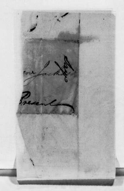 John Reynolds to Andrew Jackson
