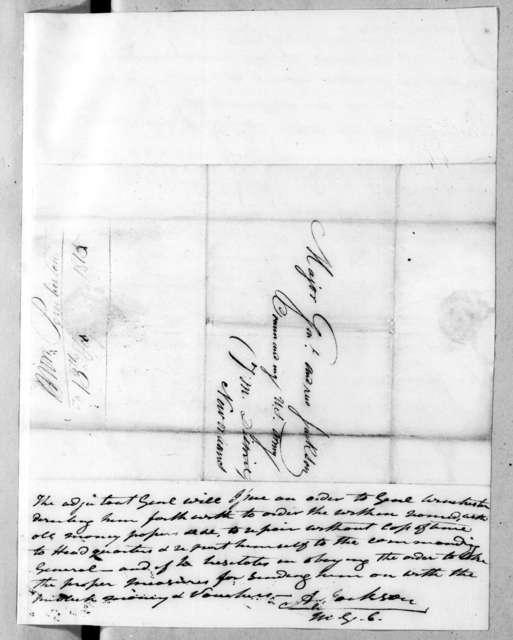 John T. Pemberton to Andrew Jackson, February 13, 1815