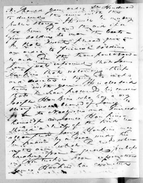 John Williams to Andrew Jackson, June 18, 1815