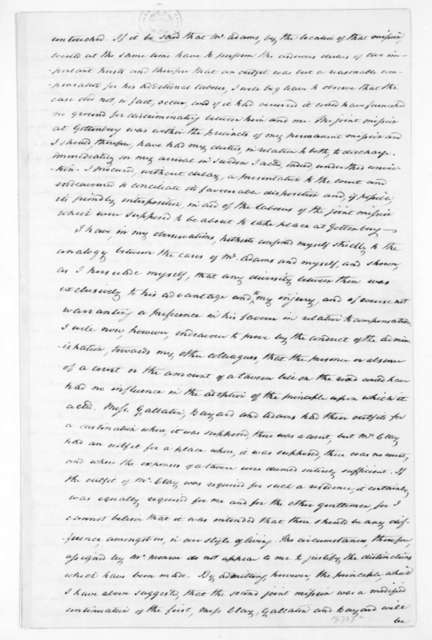 Jonathan Russell to James Madison, February 15, 1815.