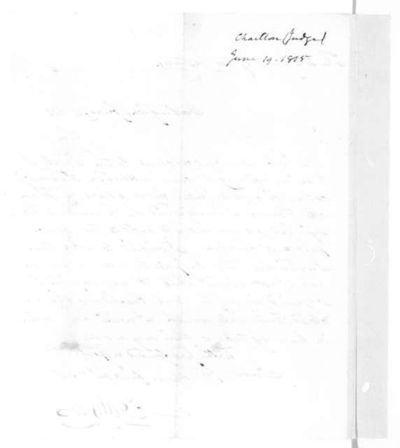 Joseph Gales Jr. to James Madison, June 19, 1815.
