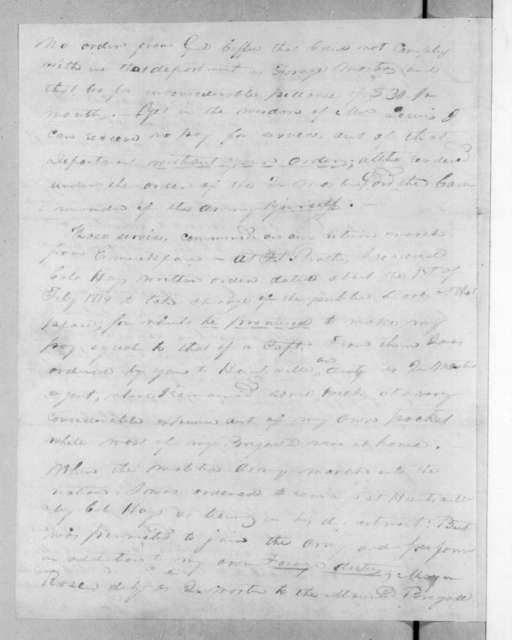 Joshua Haskell to Andrew Jackson