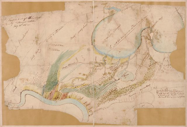 Map 1814-15 New Orleans.