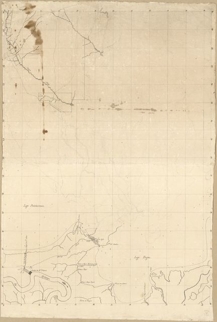 [Map of an area along the eastern shore of Lake Pontchartrain, Louisiana, including New Orleans and Bayou Chitto].