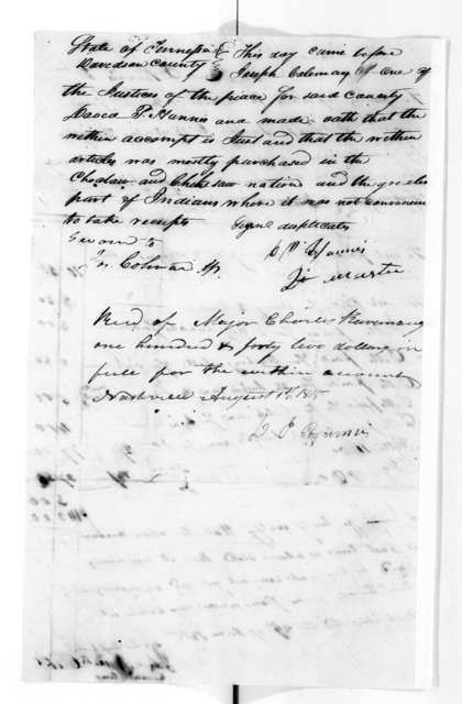 Military Papers - June 1 - December 25, 1815, Vol. VIII