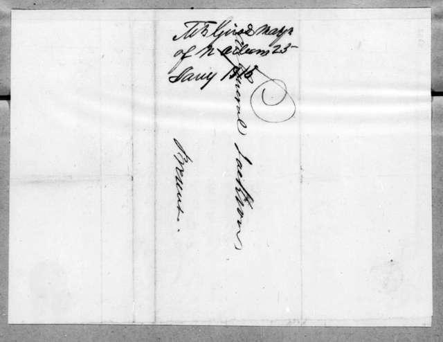 Nicholas Girod to Andrew Jackson, January 25, 1815