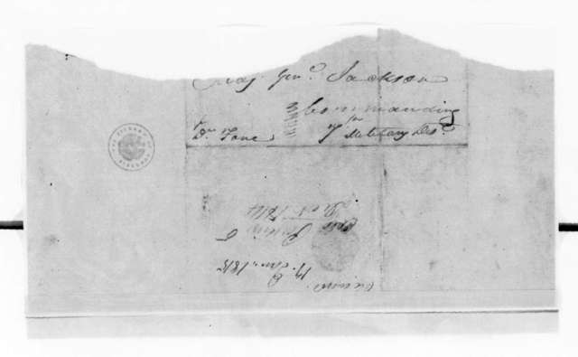 Peter Perkins to Andrew Jackson, January 17, 1815