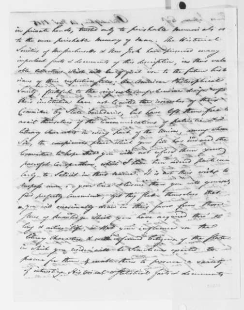 Peter S. du Ponceaux to Thomas Jefferson, November 14, 1815