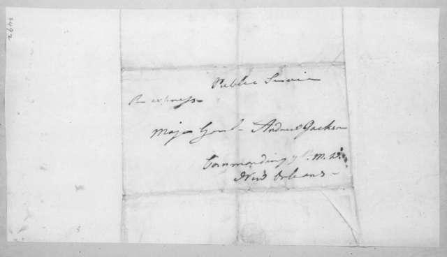 Philemon Thomas to Andrew Jackson, February 17, 1815