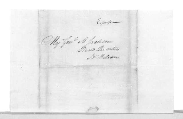 Robert McCausland to Andrew Jackson, February 24, 1815