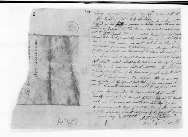 Robert McCausland to William Charles Cole Claiborne, January 20, 1815
