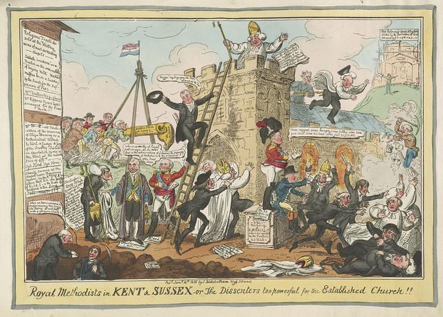 Royal Methodists in Kent & Sussex---or the dissenters too powerful for the established church / [G. Cruikshank].