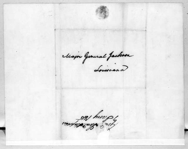 Samuel Hopkins to Andrew Jackson, January 7, 1815