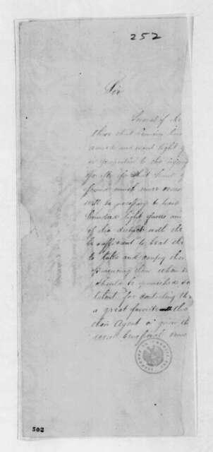 Thomas Adams Smith to Andrew Jackson, October 2, 1815