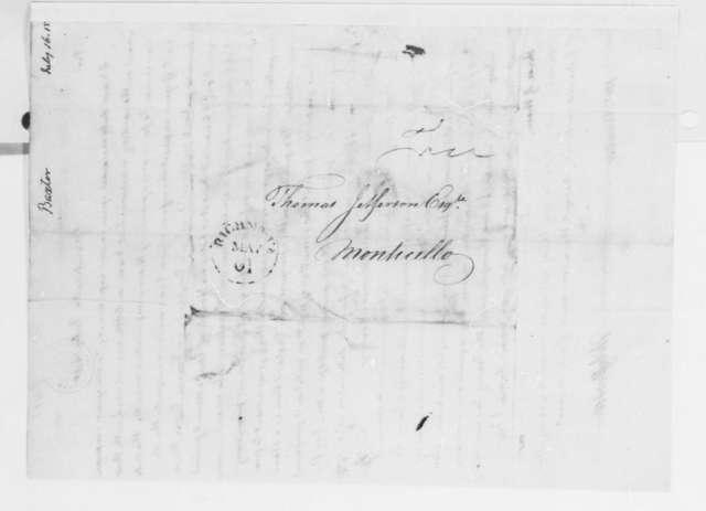 Thomas Jefferson to John George Baxter, July 16, 1815