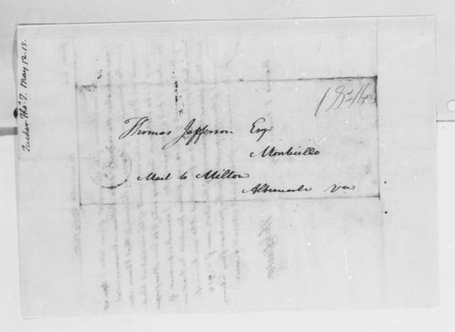 Thomas Jefferson to Thomas Tudor Tucker, May 12, 1815