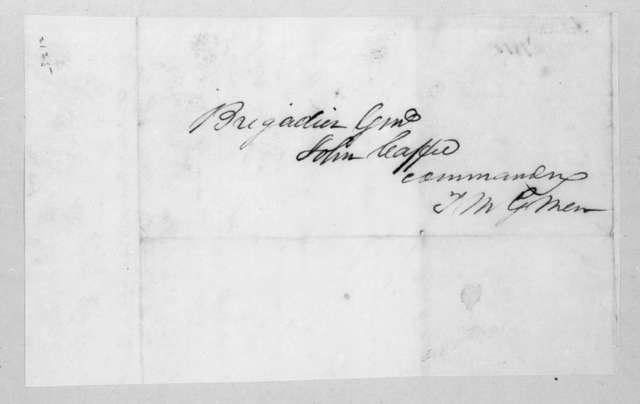 Thomas Langford Butler to John Coffee, February 2, 1815