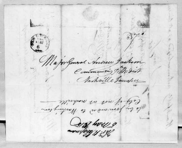 Thomas P. Chapman to Andrew Jackson, May 5, 1815