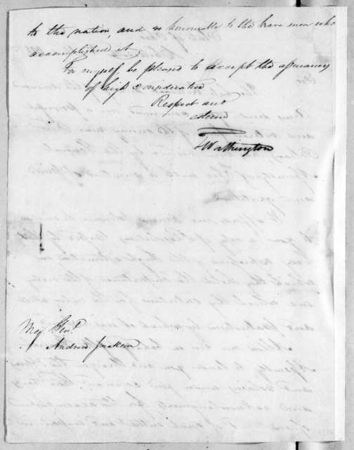 Thomas Worthington to Andrew Jackson, April 3, 1815