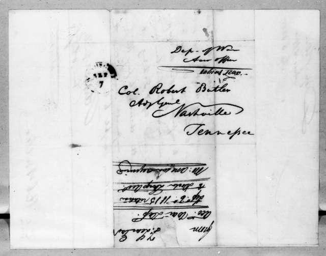 Tobias Lear to Robert Butler, September 6, 1815