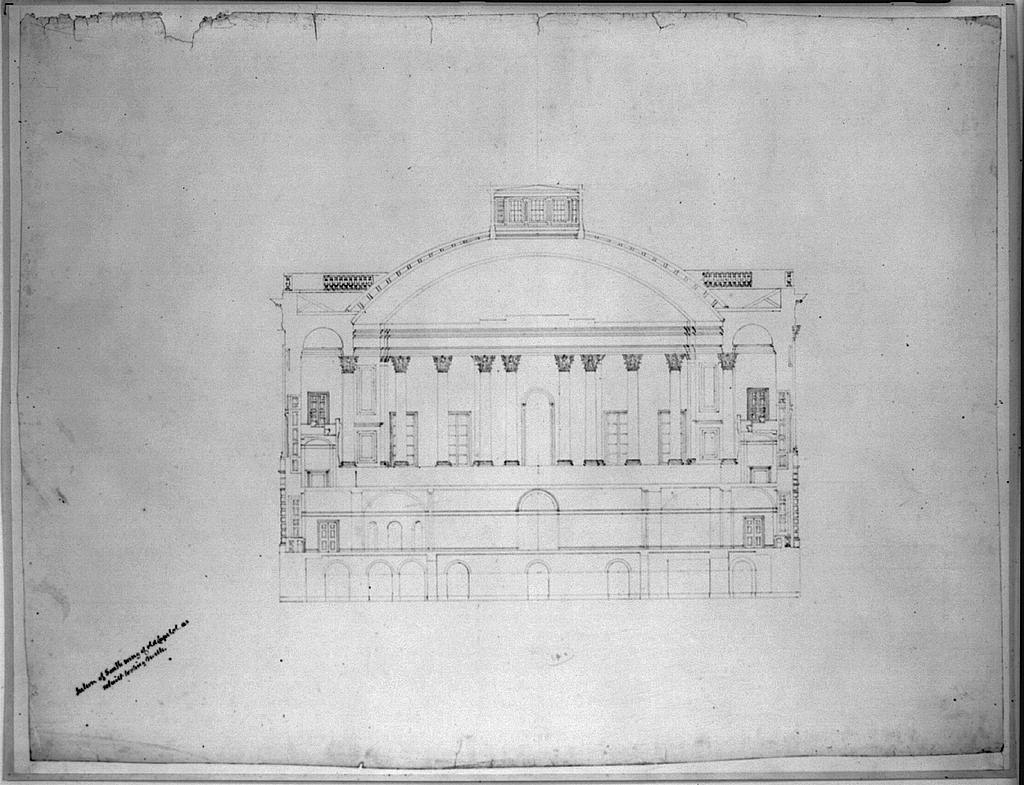 [United States Capitol, Washington, D.C. South wing, section]