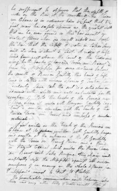 William Darby to Andrew Jackson, February 1, 1815