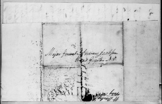 William Darby to Andrew Jackson, February 8, 1815