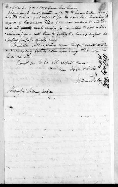 William Darby to Andrew Jackson, February 9, 1815