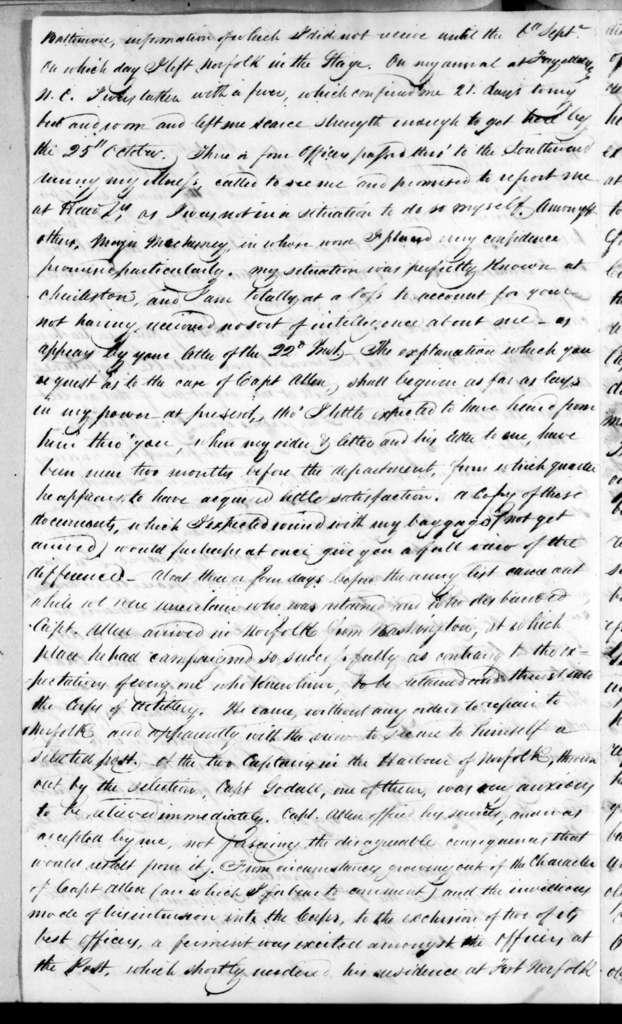 William Lindsay to Edmund Pendleton Gaines, October 29, 1815