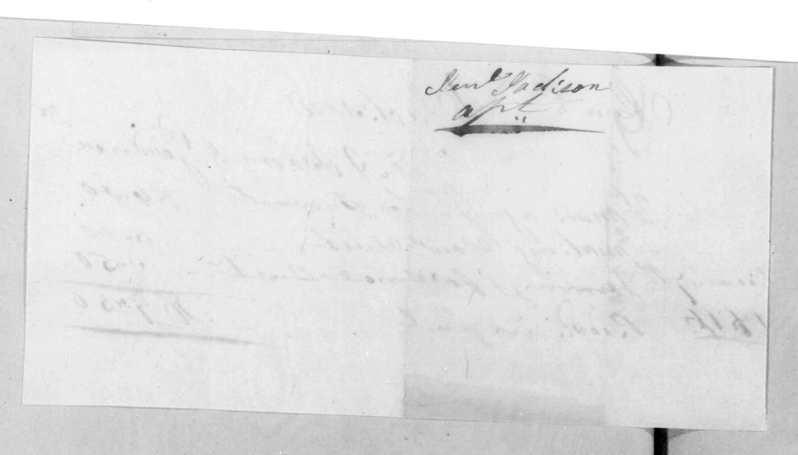 Alfred Osborn & John Gardner to Andrew Jackson, December 7, 1816