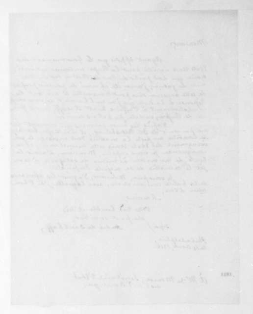 Andre de Daschkoff to James Monroe, August 14, 1816. In French.