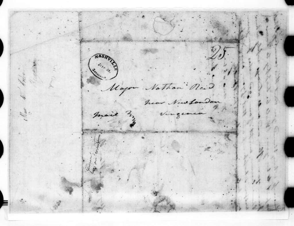 Andrew Jackson to Nathan Reid, June 23, 1816
