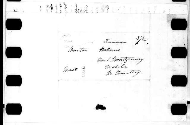 Andrew Jackson to Thomas G. Holmes, February 9, 1816