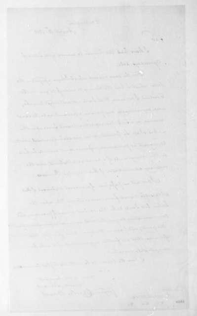Charles Bagot to James Monroe, August 13, 1816.