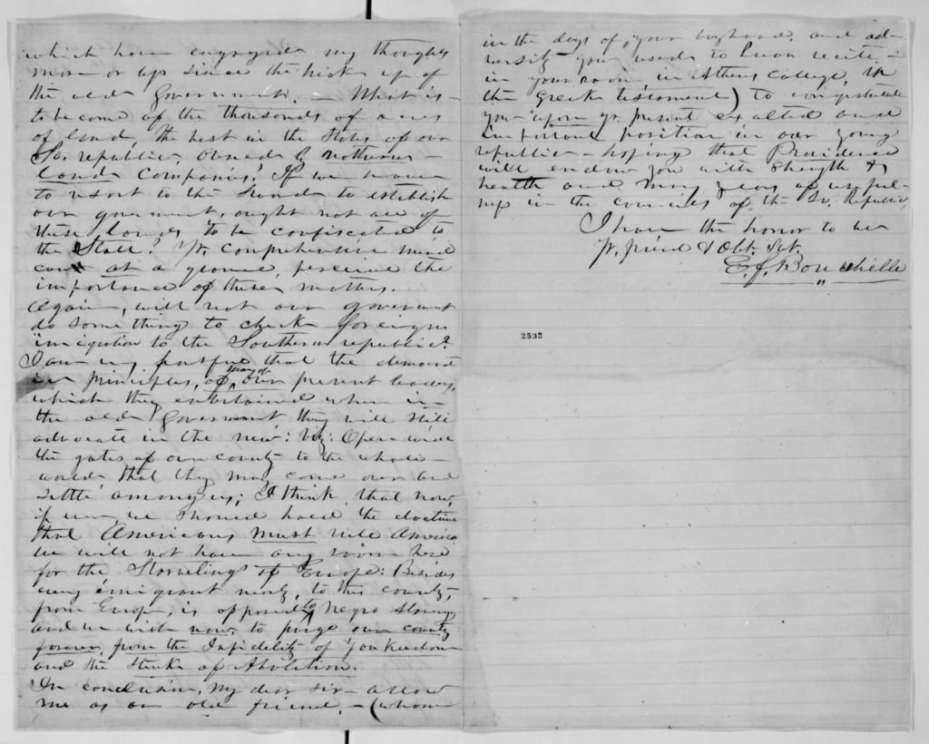Charles Reese to Return Jonathan Meigs, June 15, 1816