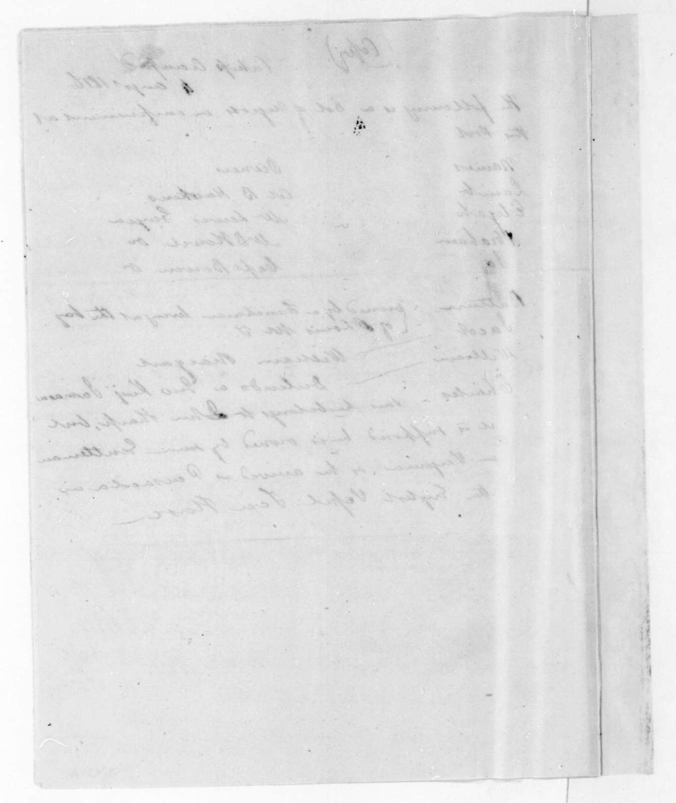 D. L. Clinch to R. Butler, August 2, 1816. Includes an inventory of captured stores from a fort in East Florida.