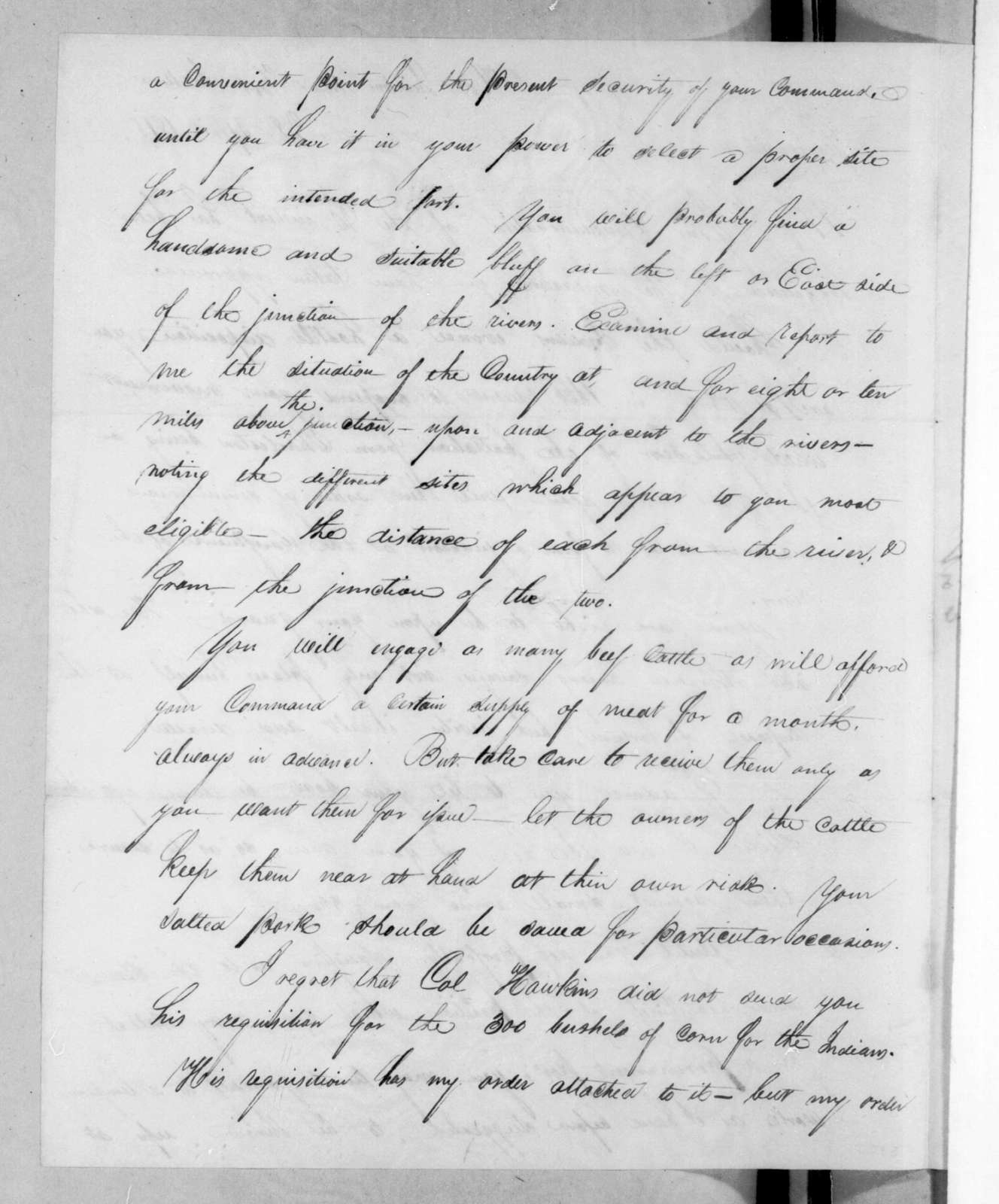 Edmund Pendleton Gaines to Duncan Lamont Clinch, April 28, 1816