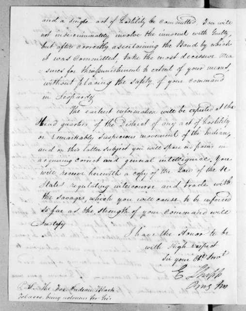 Edmund Shipp to William Lawrence, June 26, 1816