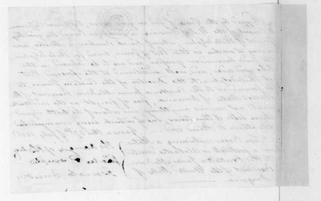 Edward Caffarena to James Madison, July 27, 1816. With Bill of Lading.
