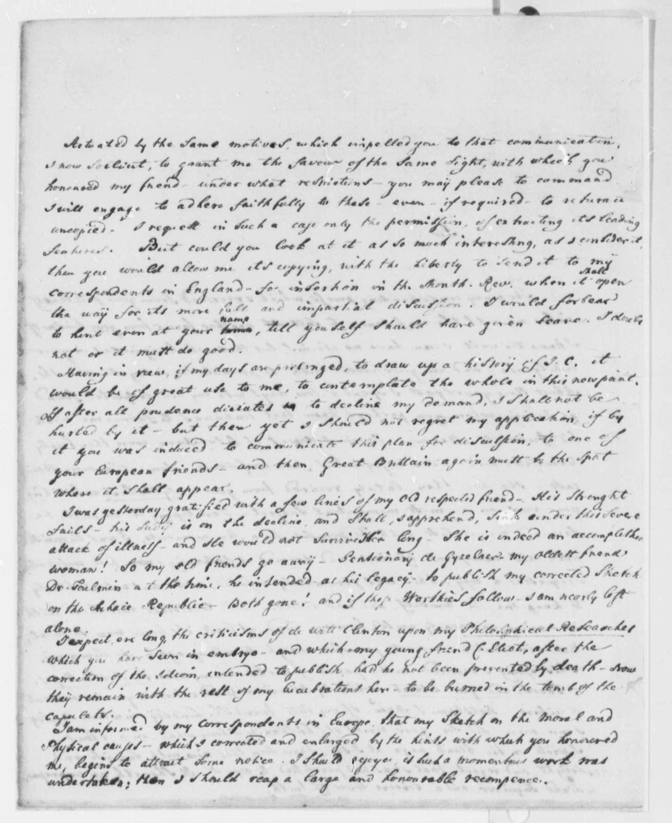 Francis A. van der Kemp to Thomas Jefferson, March 24, 1816