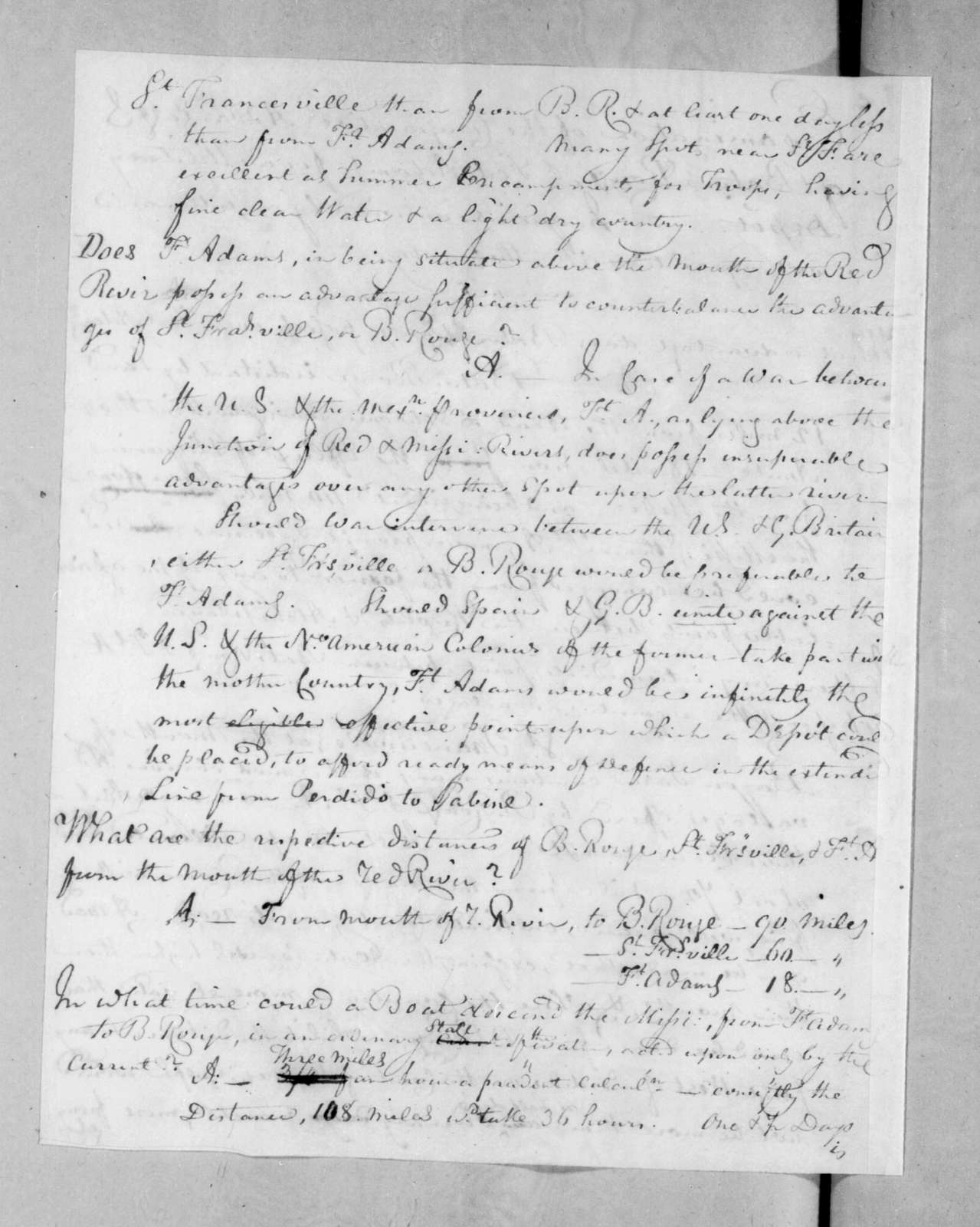 George Bomford to Andrew Jackson, July 30, 1816