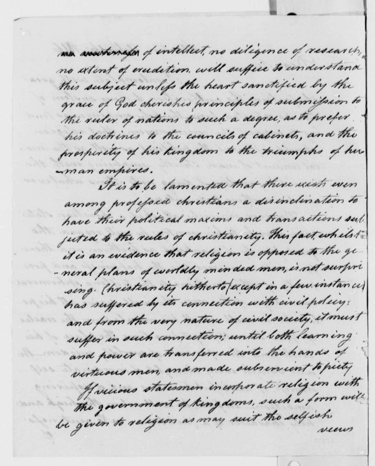 George Logan to Thomas Jefferson, October 16, 1816