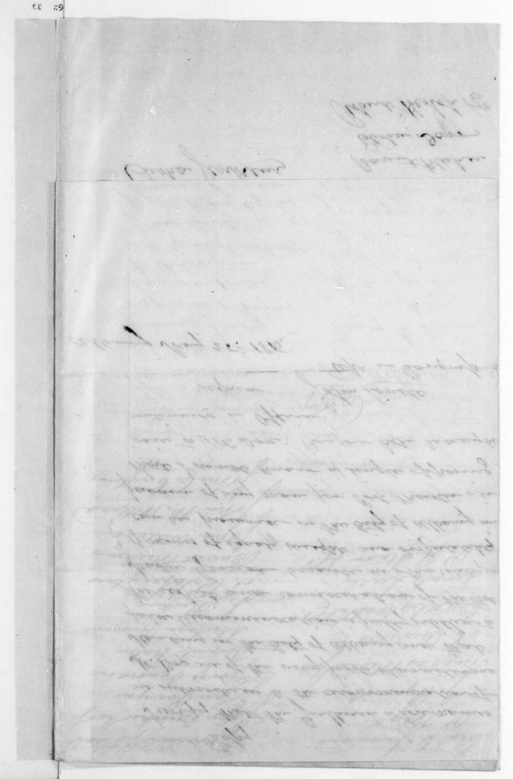 Gerrit Dox to James Madison, May 28, 1816. Includes a petition from Citizens of Albany, NY to Return J. Meigs for G. Dox to be local Post Master and a certification from John Lovett.