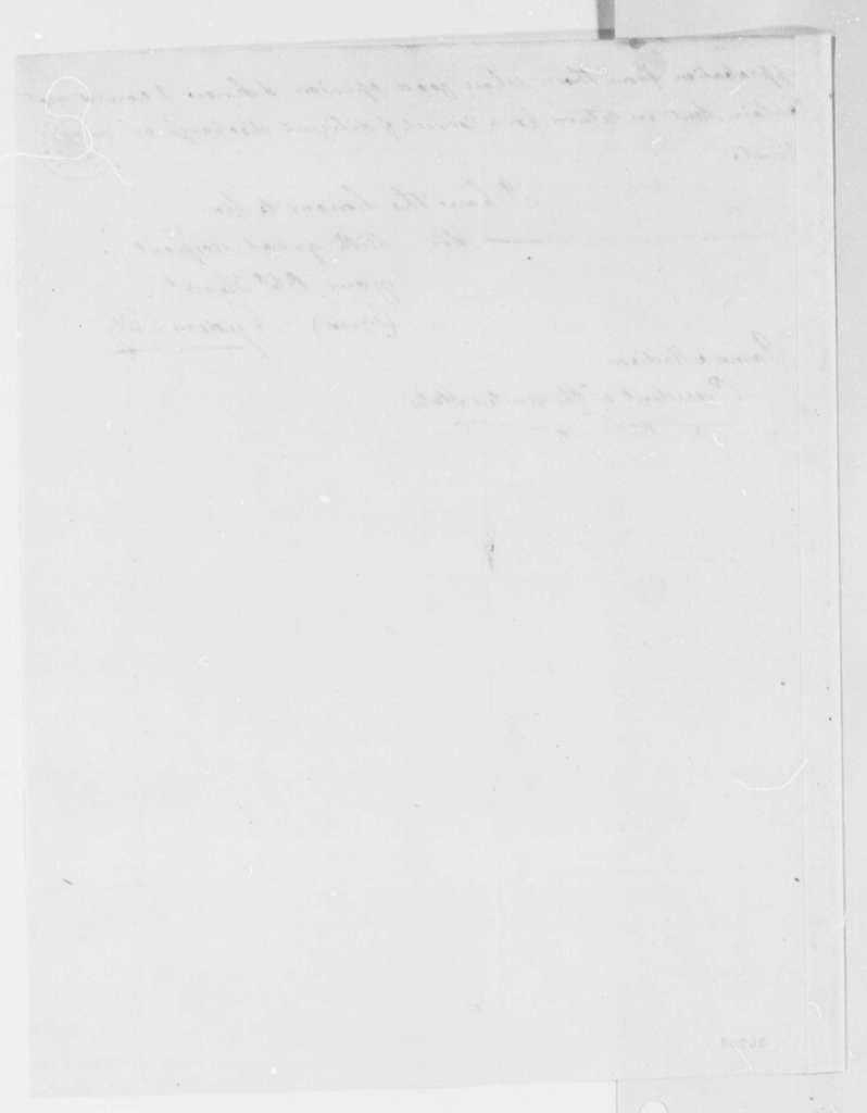 Gideon Fitz to James Madison, February 26, 1816