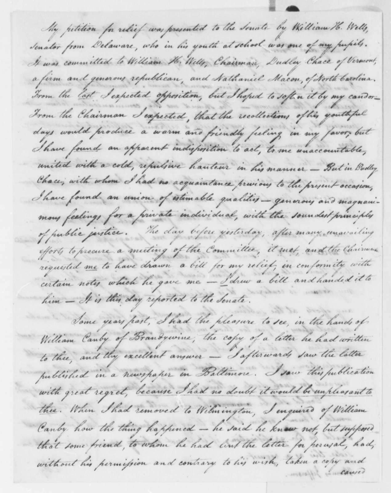 Isaac Briggs to Thomas Jefferson, March 30, 1816