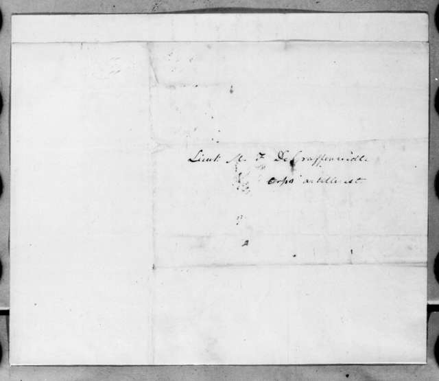 James Bankhead to Mathew F. Degraffenried, June 20, 1816