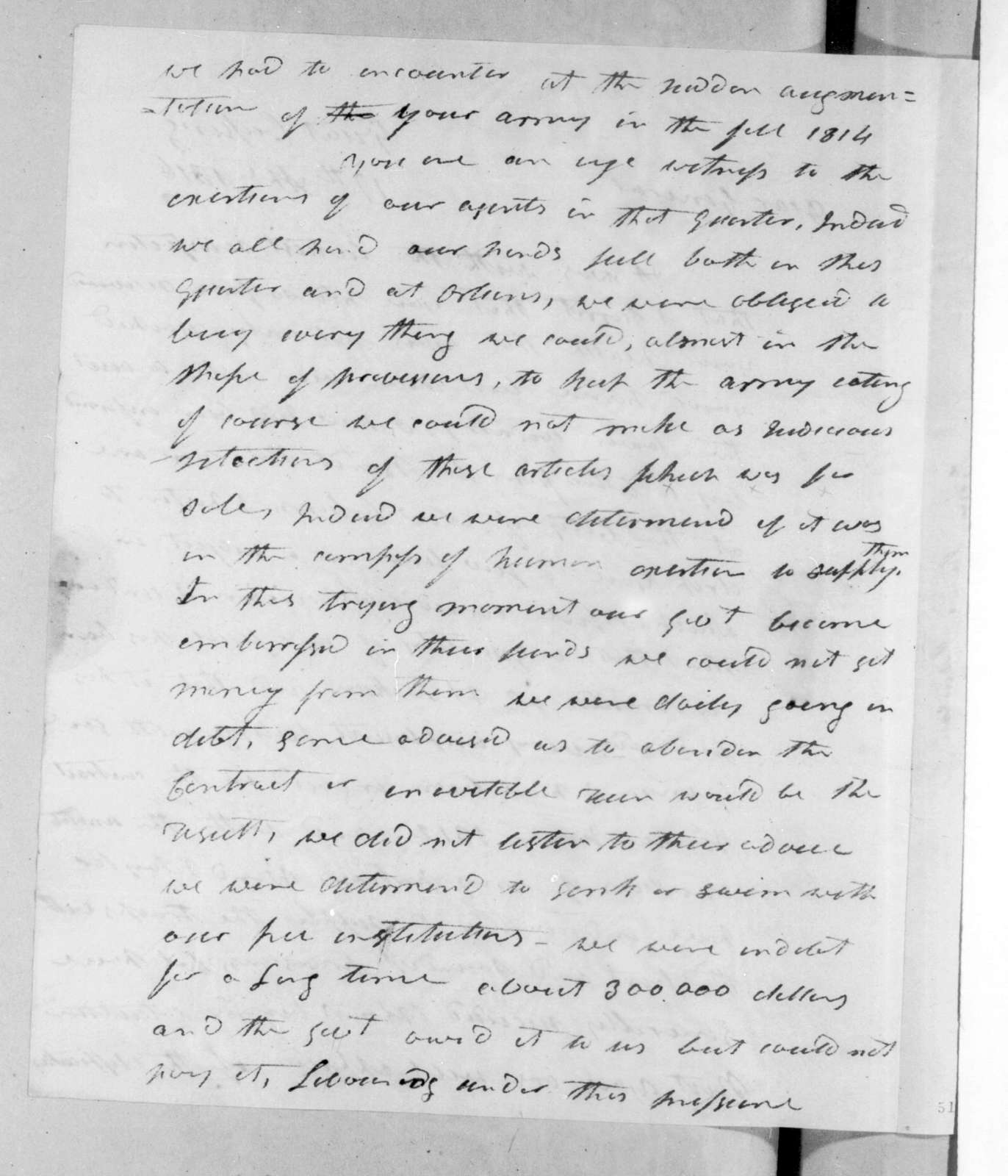 James Johnson to Andrew Jackson, April 17, 1816