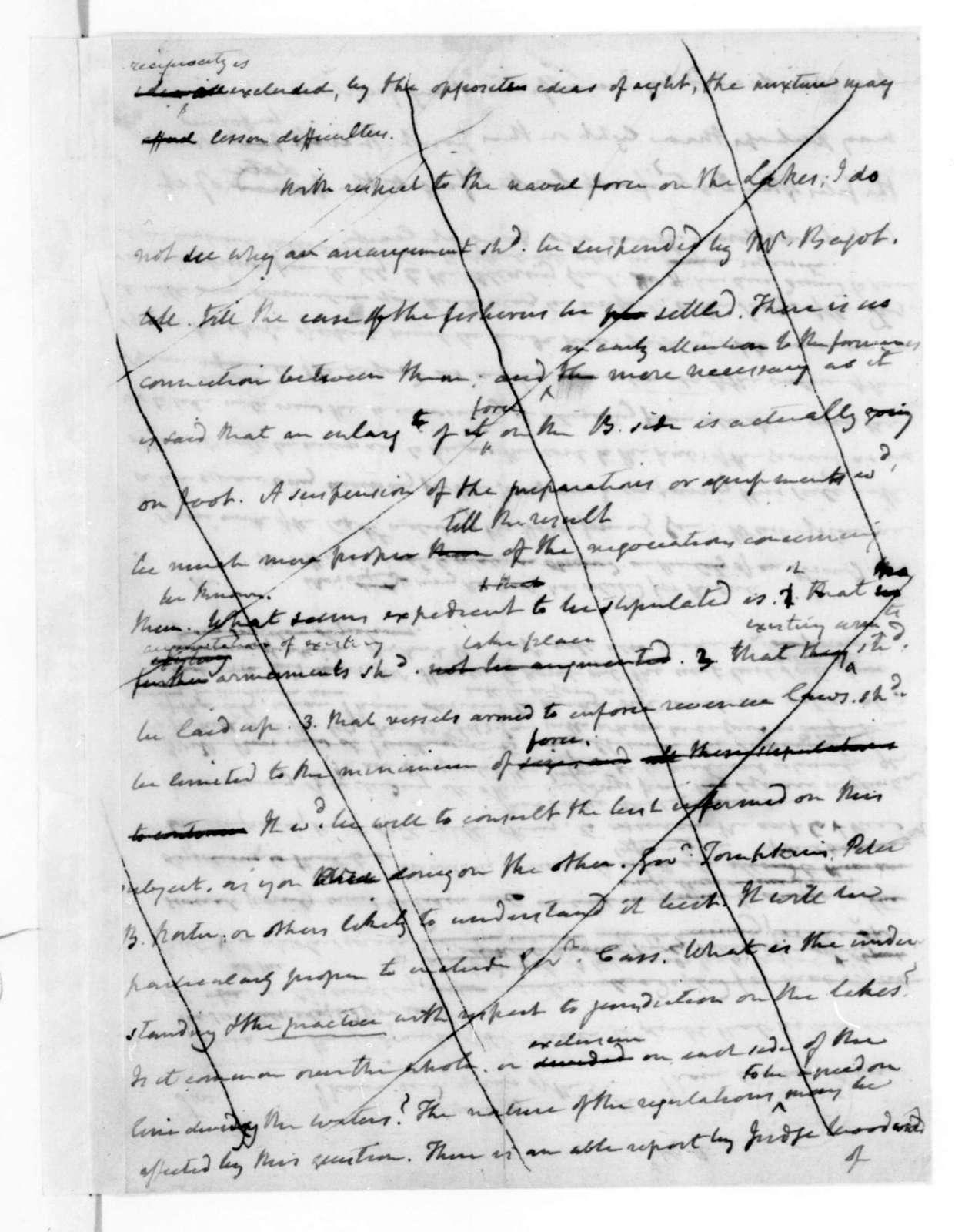 James Madison to Lane, July 12, 1816.