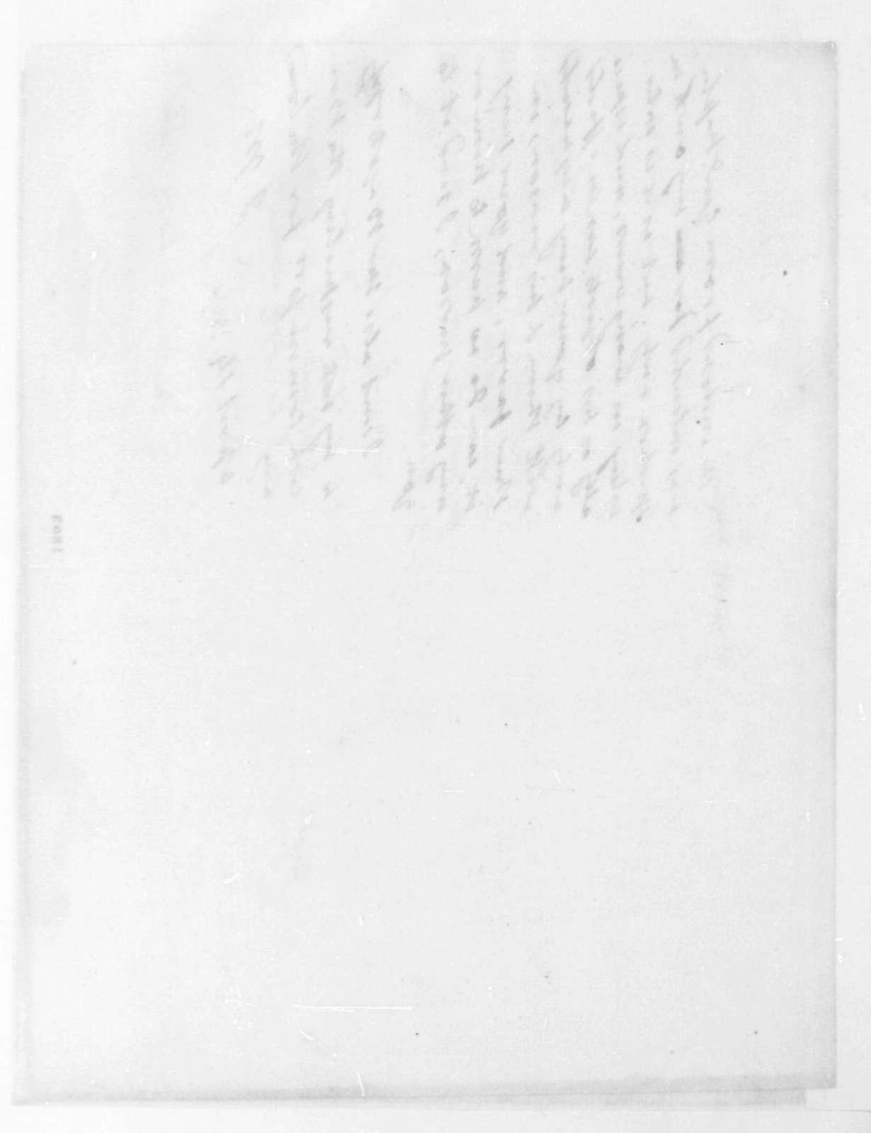 James Monroe to James Madison, April 14, 1816.