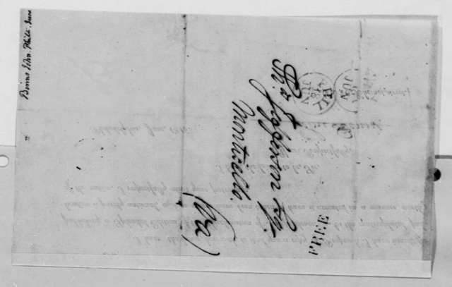 John Binns to Thomas Jefferson, June 1816, Form Letter